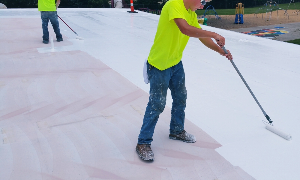 Flat Roofing Contractor Commercial Building in Kansas City Above All Construction 601 Avenida Cesar E Chavez Unit 244 Kansas City, MO 64108 (913) 298-6603 http://www.aboveallkc.com https://www.facebook.com/AboveAllConstructionLLC/