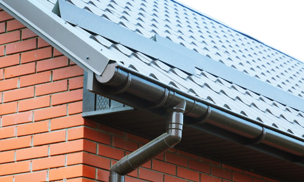 Gutter And Downspout Installation In Kansas City Above